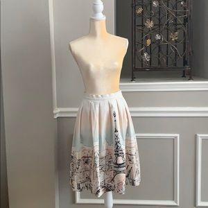 Paris full skirt